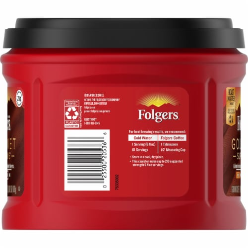 Folgers Gourmet Supreme Ground Coffee Perspective: left