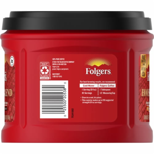 Folgers House Blend Ground Coffee Perspective: left
