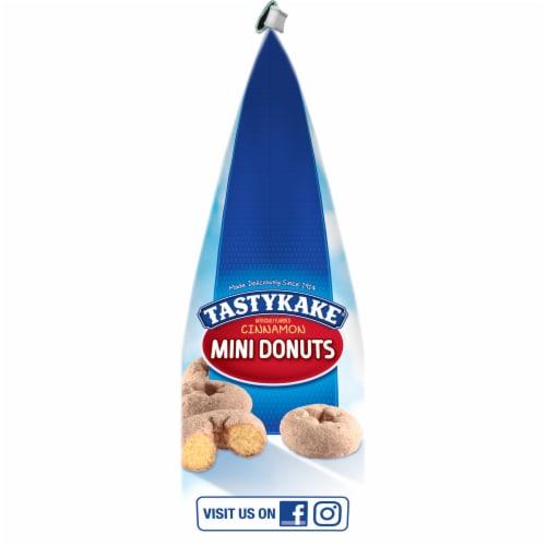 Tastykake Cinnamon Mini Donuts Perspective: left
