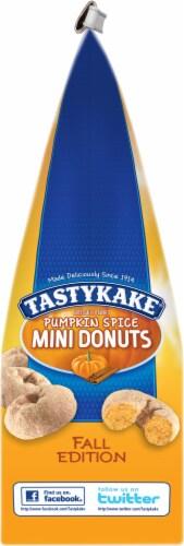 Tastykake Pumpkin Spice Mini Donuts Perspective: left