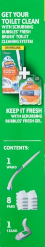 Scrubbing Bubbles Fresh Brush Toilet Cleaning System Starter Kit Perspective: left