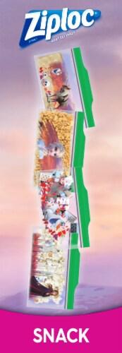 Ziploc Disney Frozen 2 Seal Top Snack Bags Perspective: left