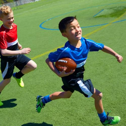 Franklin Playbook Mini Flag Football Set Perspective: left