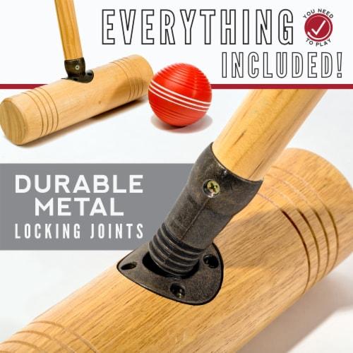 Franklin Professional Croquet Set Perspective: left