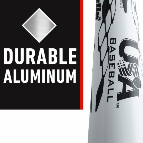 Franklin Venom 1200 Baseball Bat - White Perspective: left