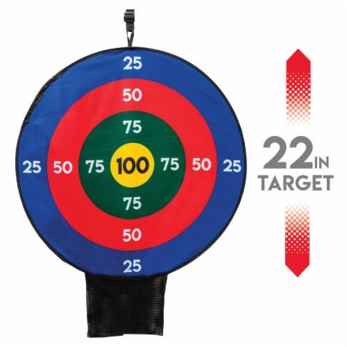 Franklin Over the Door Archery Target Set Perspective: left