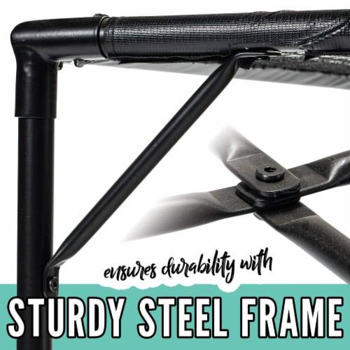 Franklin® Steel Spyder Pong Perspective: left