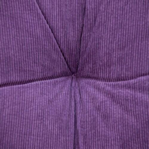 Parkland Collection Alena Transitional Purple Floor Pillow Perspective: left