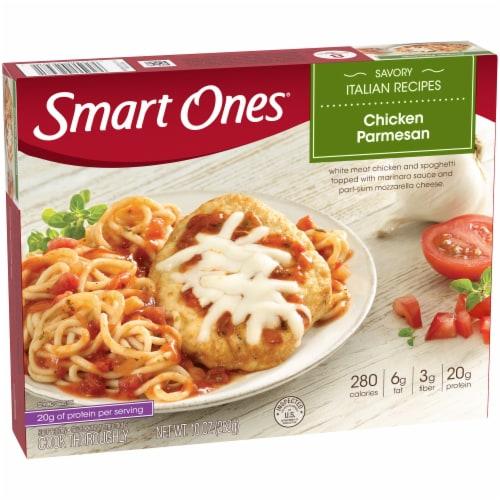 Smart Ones Savory Italian Recipes Chicken Parmesan Perspective: left