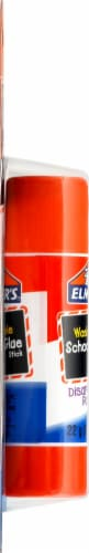 Elmer's Washable School Glue Stick - Disappearing Purple Perspective: left