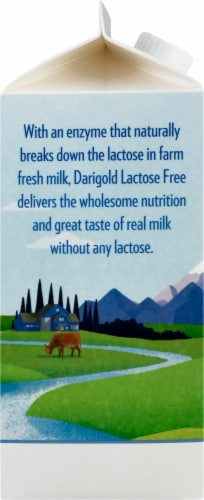 Darigold Reduced Fat Lactose Free Ultra-Pasteurized 2% Milk Perspective: left