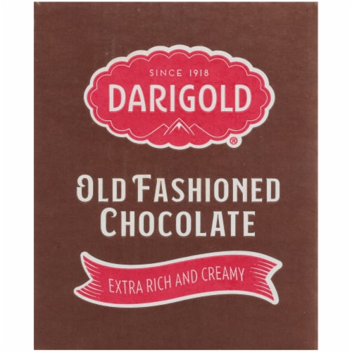 Darigold Old Fashioned Chocolate Milk Perspective: left