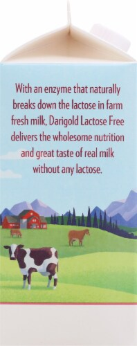 Darigold Lactose Free Ultra-Pasteurized Whole Milk Perspective: left