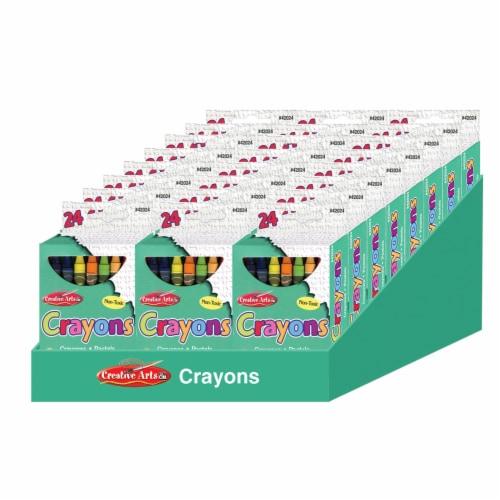 Charles Leonard Inc Creative Arts Crayons Perspective: left
