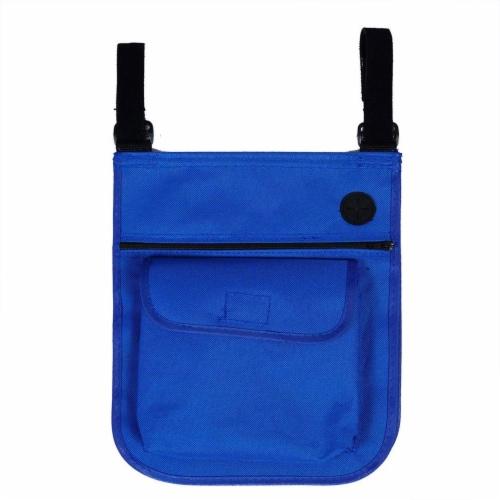 Copa Backpack Single Position Folding Aluminum Beach Lounge Chair, Dark Blue Perspective: left
