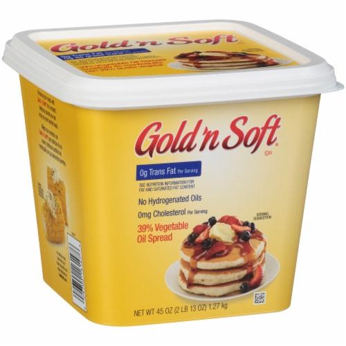 Gold 'n Soft Vegetable Oil Spread Perspective: left