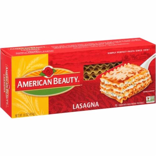 American Beauty Lasagna Perspective: left