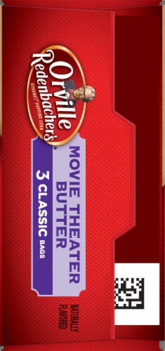 Orville Redenbacher's Movie Theater Butter Popcorn Bags Perspective: left