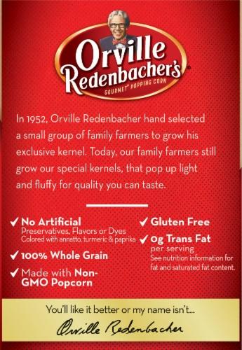 Orville Redenbacher's Butter Popcorn Bags 12 Count Perspective: left