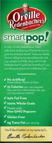 Orville Redenbacher's Smart Pop! Kettle Corn Popcorn Perspective: left