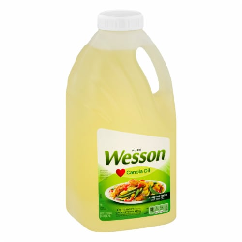 Wesson® Pure Canola Oil Perspective: left