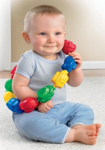 Fisher-Price® Brilliant Basics Snap-Lock Beads Perspective: left