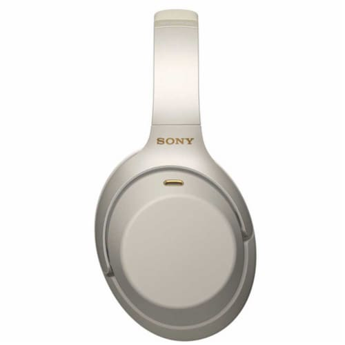 Sony Wh-1000xm3 Wireless Noise-canceling Headphones With Mic And Voice Control Perspective: left