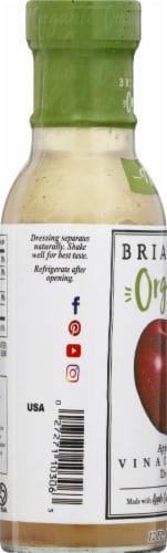 Brianna's Organic Apple Cider Vinaigrette Dressing Perspective: left