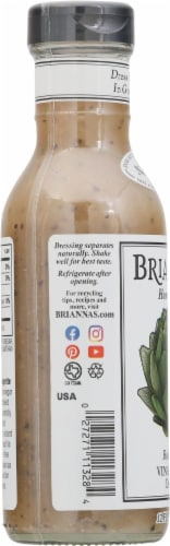 Brianna's Real French Vinaigrette Dressing Perspective: left