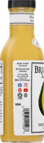 Brianna's Honey Dijon Mustard Dressing Perspective: left