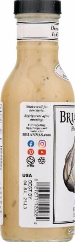 Brianna's Asiago Caesar Dressing Perspective: left
