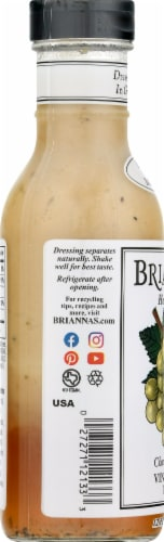 Brianna's Home Style Champagne Caper Vinaigrette Dressing Perspective: left