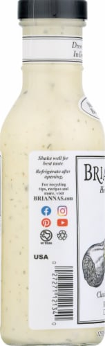 Brianna's Classic Buttermilk Ranch Dressing Perspective: left