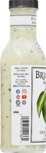 Brianna's Creamy Cilantro Lime Salad Dressing Perspective: left