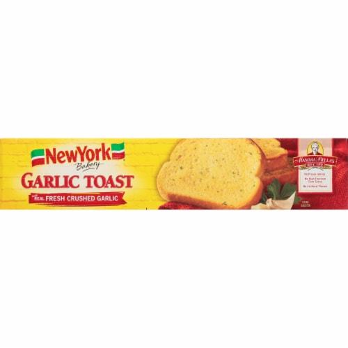 New York Bakery Garlic Toast Perspective: left