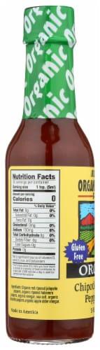 Arizona Pepper's Organic Harvest Foods Chipotle Habanero Pepper Sauce Perspective: left