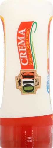 Ole Crema Mexican Style Cream Squeeze Bottle Perspective: left