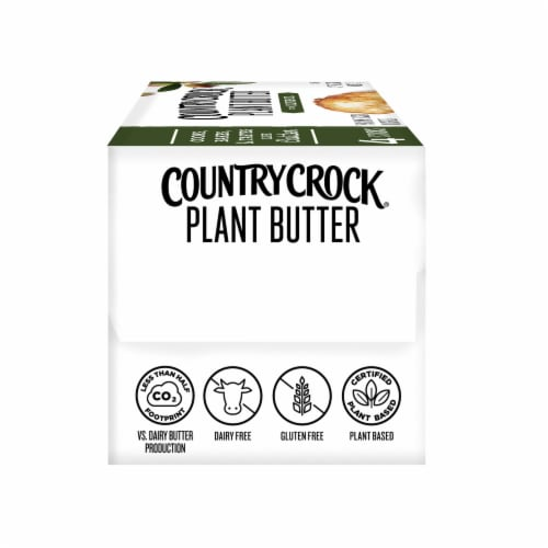 Country Crock Dairy Free Olive Oil Plant Butter Perspective: left