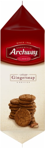 Archway Homestyle Classics Crispy Gingersnap Cookies Perspective: left