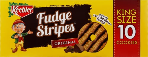 Keebler Original Fudge Stripes Cookies Perspective: left