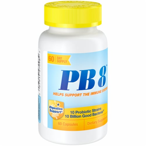 Nutrition Now PB 8 Immune System Support Capsules Perspective: left