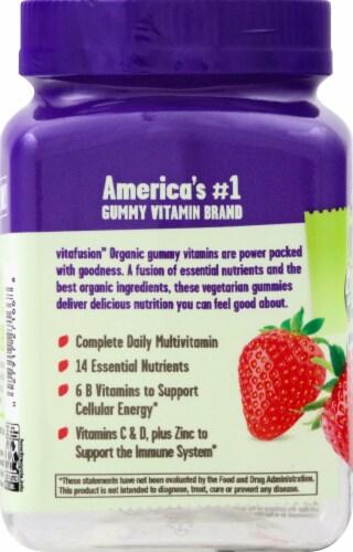 Vitafusion Organic Men's Mult vitamin Gummies 90 Count Perspective: left