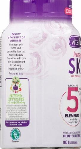 Vitafusion Irrestible Skin Gummies 100 Count Perspective: left