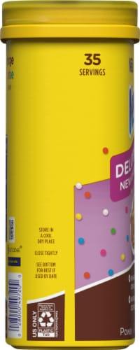 Nesquik® Hot Fudge Sundae Powdered Drink Mix Perspective: left