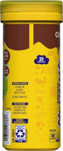 NESQUIK Chocolate Flavor Powder Drink Mix Perspective: left