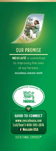 Nescafe Taster's Choice Decaf House Blend Instant Coffee Packets Perspective: left