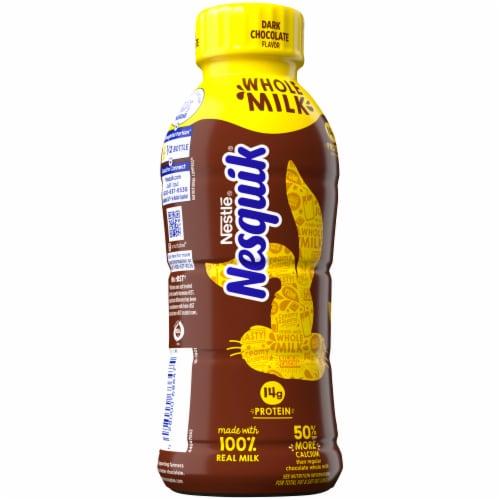 Nesquik Dark Chocolate Whole Milk Perspective: left