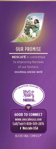 Nescafe® Taster's Choice® 100% Colombian Instant Coffee Packets Perspective: left