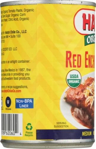 Hatch Medium Red Enchilada Sauce Perspective: left
