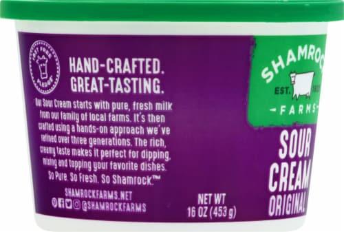 Shamrock Farms Sour Cream Perspective: left